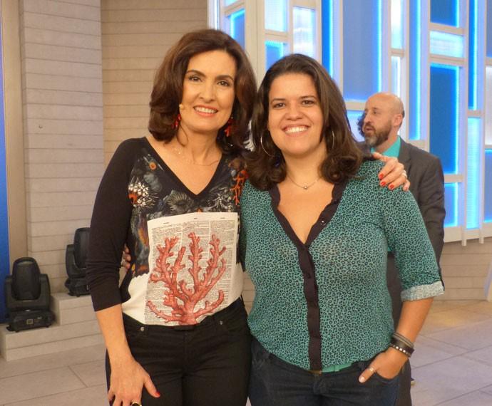 Larissa participou do programa e falou sobre dívidas (Foto: Viviane Figueiredo Neto/ Gshow)
