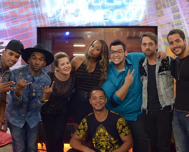 Convidados The voice web (Foto: Camila Serejo/Gshow)