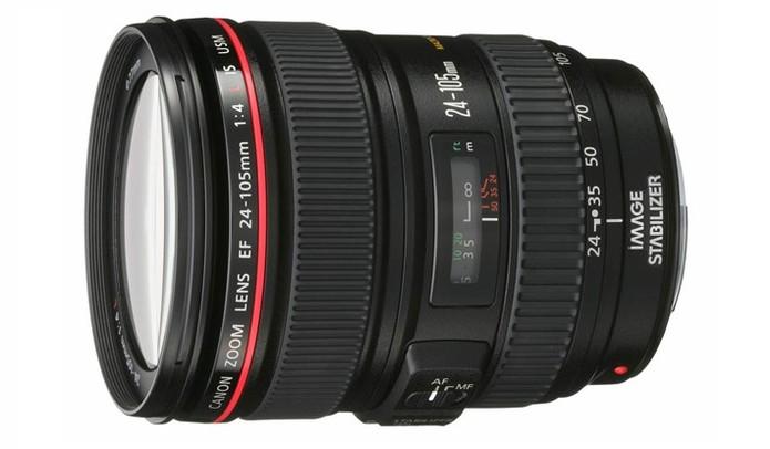 Canon EF 24-105mm, lente zoom (Foto: Adriano Hamaguchi/TechTudo)