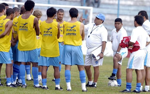 Vagner Benazzi comandou o Paysandu em 2004, quando a equipe disputava a Série A do Brasileiro (Foto: Ary Souza/O Liberal)