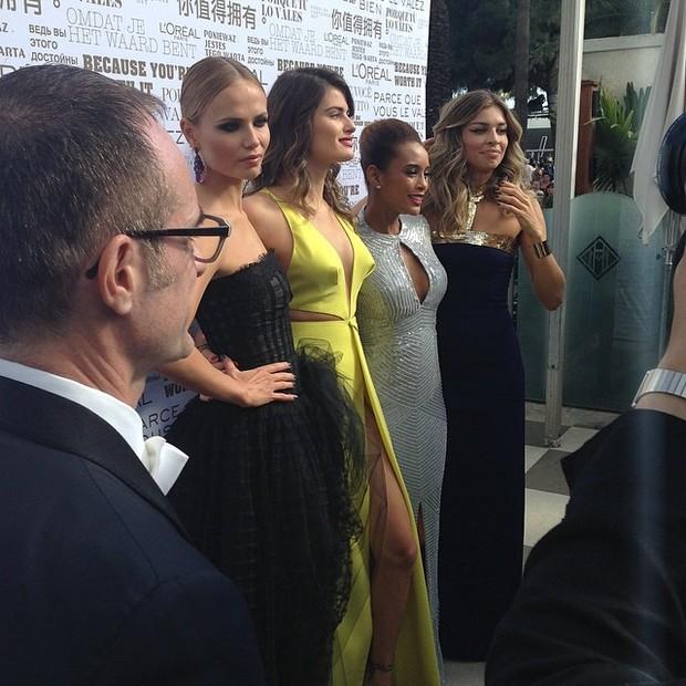 Natasha Poly, Isabelli Fontana, Taís Araújo e Grazi Massafera  (Foto: Instagram / Reprodução)
