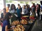 Igreja em Boa Vista oferece café da manhã a refugiados venezuelanos