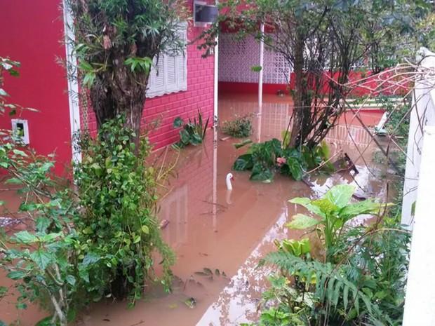 Ipira, temporais em SC (Foto: Antero Medeiros/Divulgação)