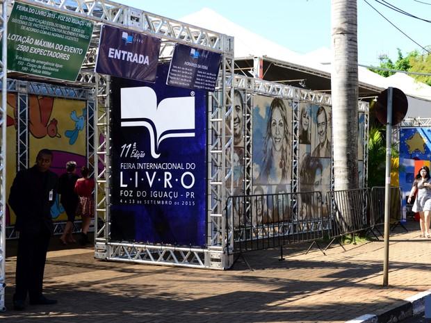 O poeta Mario Quintana foi o autor homenageado da edição de 2015 da Feira do Livro de Foz do Iguaçu (Foto: Fundação Cultural de Foz do Iguaçu / Divulgação)