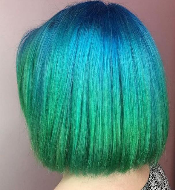 Cabelo Colorido  (Foto: Repdoução/Instagram)