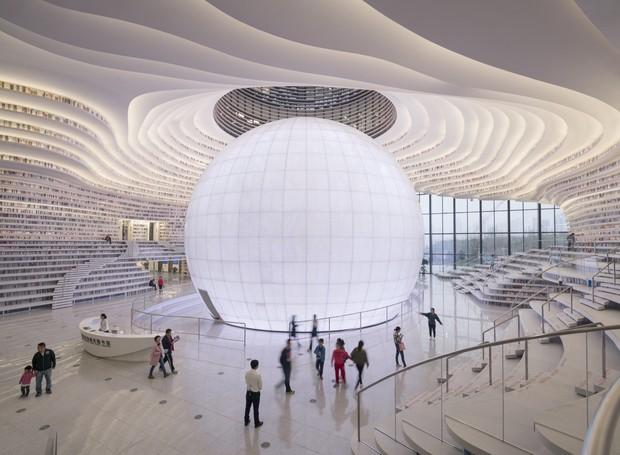 biblioteca-china (Foto: Divulgação)