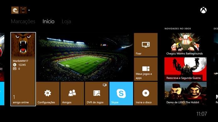 Xbox One  como mostrar seu nome real no console (Foto  Reprodução Murilo 4b286f26e0687