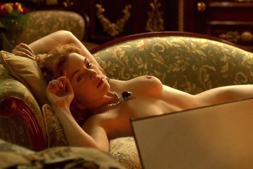 Kate Winslet em 'Titanic' (1997). (Foto: Reprodução)