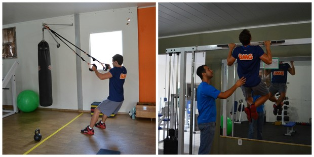 Treinamento funcional em Cacoal (Foto: Fernanda Bonilha)