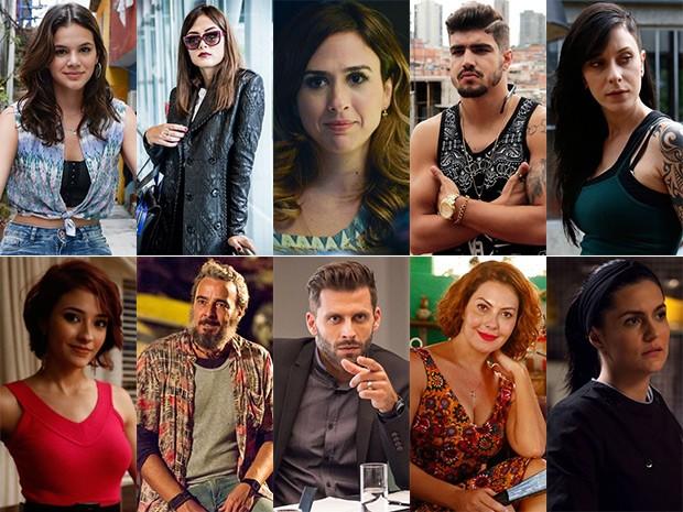 Elenco de I Love Paraisópolis passou por mudanças de visual (Foto: Gshow)