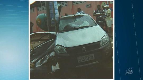 Dona de casa morre em acidente na  esquina da rua onde morava