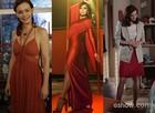 Vários tons de vermelho nos looks das personagens de Em Família (Foto: Em Familia/TVGlobo)