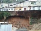 Defesa Civil interdita casas após deslizamento no Rio Comprido