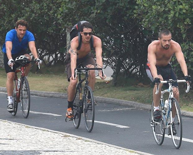 Igor, Rafel Losso e Rafael Cardoso (Foto: Dilson Silva /AgNews)