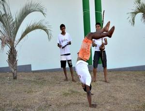 Grupo realiza 1ª Encontro de capoeira em prol da cultura brasileira (Foto: Magda Oliveira)