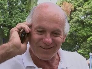 Afonso Tirobace recebeu até ligações perguntado se ele era o sortudo (Foto: Reprodução/ TV TEM)
