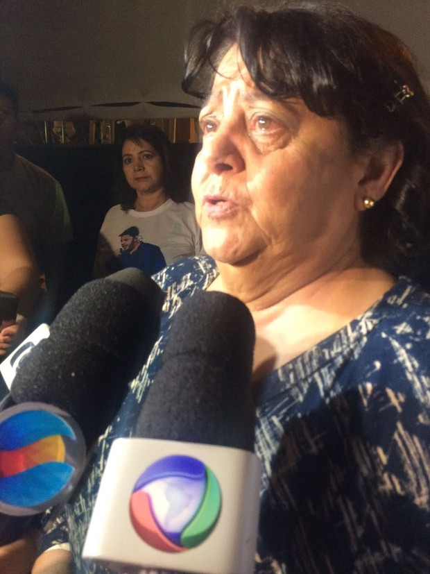 Mãe de Cristiano Araújo (Foto: Kamylla Rodrigues / EGO)