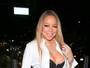Mariah Carey usa decote e acaba mostrando demais