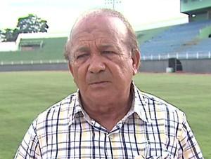 Antônio Aquino presidente da Federação de Futebol do Acre FFAC (Foto: Reprodução/TV Acre)