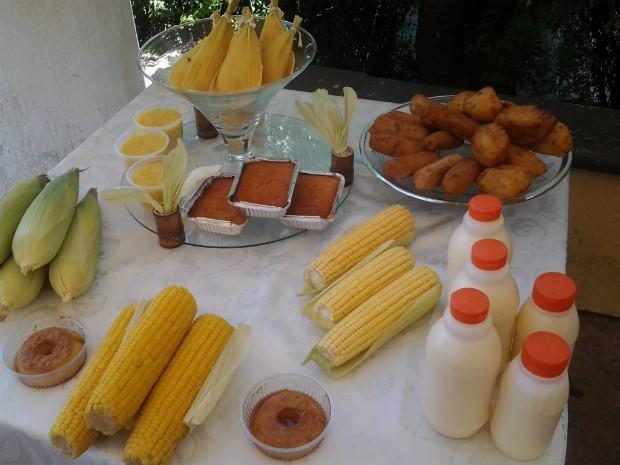 Festa do Milho Verde é realizada na paróquia São Roque (Foto: Fábio Campos / TV TEM)