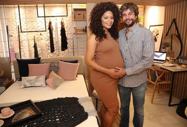 Juliana Alves e Ernani Nunes (Foto: Reprodução)