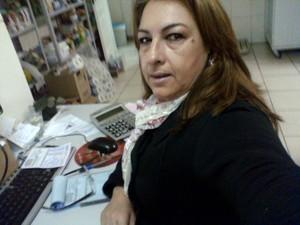 Sirlene chegou à uma agência do INSS, em Curitiba, para fazer perícia e a encontrou fechada (Foto: Arquivo Pessoal)