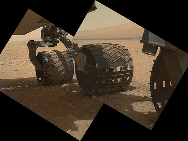 Curiosity Marte  (Foto: Nasa/JPL-Caltech/Malin Space Science Systems)