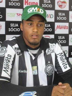 Rodrigo Jesus Operário-PR (Foto: Divulgação/ Operário-PR)