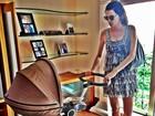 Nova mamãe, Fernanda Motta descreve sentimento: 'Comecei a viver agora'