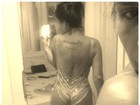 Solange Gomes aparece quase nua em foto divulgada em rede social