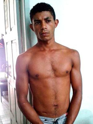 Sival Varela Patrício da Cruz foi preso e confessou o crime (Foto: Arthur Barbalho/G1)