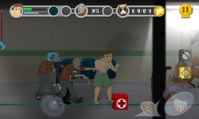 Dead Punch foi desenvolvido tanto para funcionar em celulares com sistema iOS, o iPhone, quanto para computadores, criado com engine Unity (Foto: Divulgação)