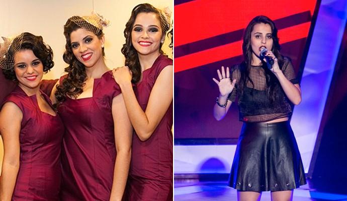 Cluster Sisters e Allice Tirolla (Foto: Dafne Bastos / TV Globo /  Isabella Pinheiro / Gshow)