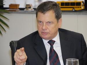 Luiz Fernando Serra, embaixador do Brasil em Cingapura (Foto: Everson Bressan-AENotícias)