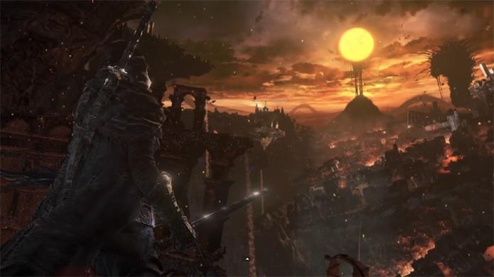 Dark Souls 3 tem primeiras imagens vazadas exibindo belos cenários (Foto: Reprodução/OnlySP)