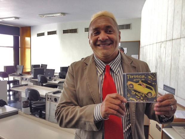 Tiririca lança CD sobre sua experiência como deputado (Foto: Fabiano Costa/G1)