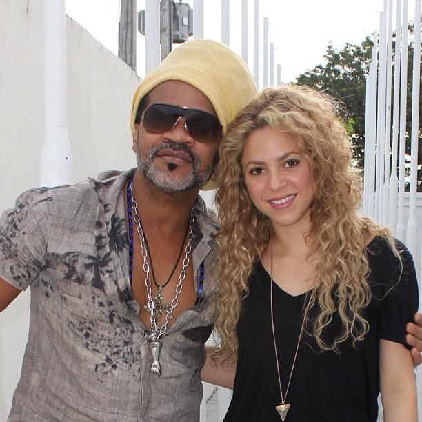 Shakira e Carlinhos Brown (Foto: Reprodução_Instagram)