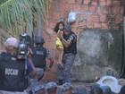 Dupla é presa após manter família refém por quase 3 horas, em Manaus