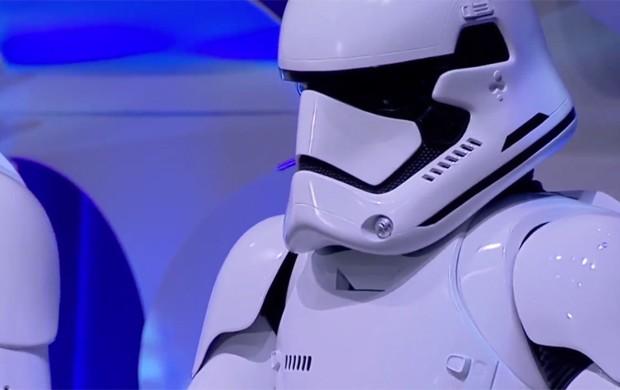 Stormtroopers do novo 'Star Wars' foi revelado na convenção Star Wars Celebration (Foto: Reprodução/YouTube)
