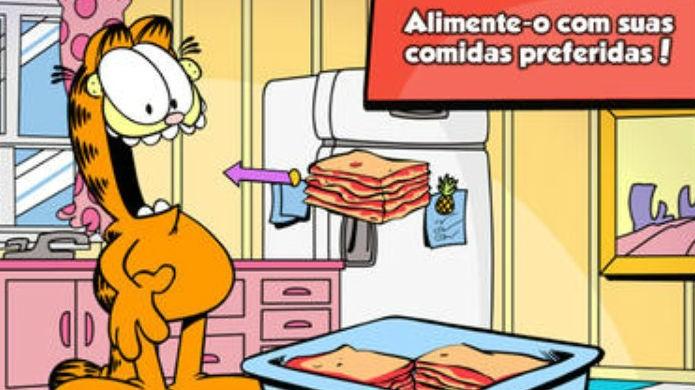 Tamagotchi: Garfield manda bem no mundo dos games (Foto: Reprodução/Google Play)