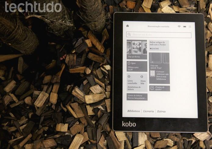 Kobo Aura (Foto: Luciana Maline/TechTudo)