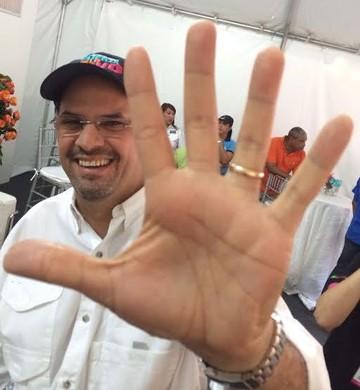 José Domingo Arias, ex-candidato à presidência do Panamá (Foto: Reprodução/Twitter/José Domingo Arias)