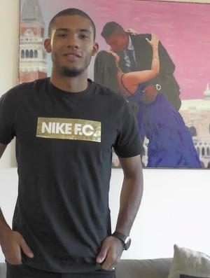 Juan, zagueiro do Inter de Milão (Foto: Claudia Garcia / GloboEsporte.com)