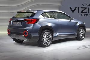 Subaru Viziv2 Concept (Foto: Divulgação)