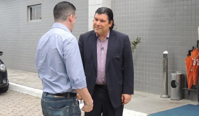 Alírio Moraes Santa Cruz (Foto: Aldo Carneiro / Pernambuco Press)