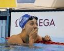 Larissa bate recorde nos 200m livre e garante vaga nos Jogos com Manuella