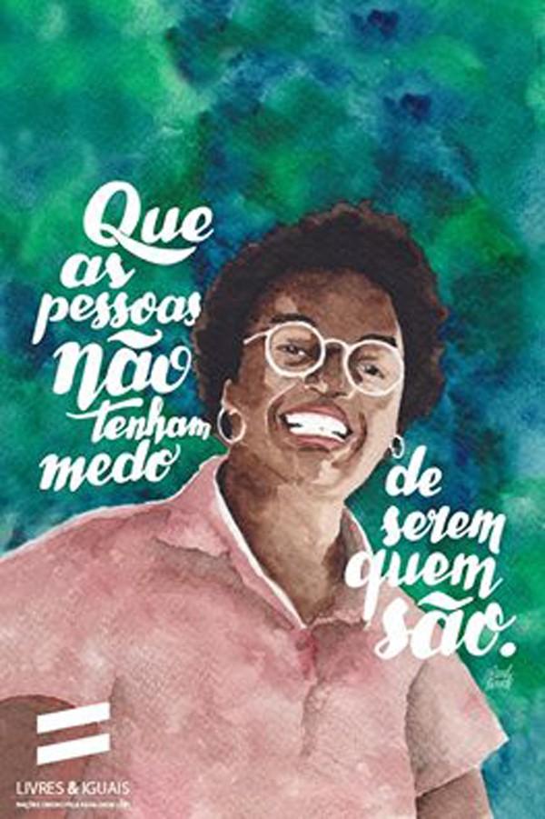 ONU celebra o Dia da Visibilidade de Mulheres Lésbicas e Bissexuais (Foto: Reprodução / Faceboook / Carolina Rosseti)