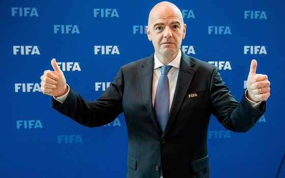 Gianni Infantino, presidente da Fifa (Foto: Getty Images)