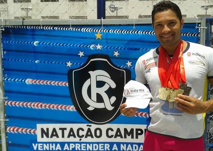 Competição, Amapaenses se destacam em Sprint de natação no PA (Foto: Reprodução/Facebook)