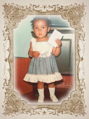 foto criança ADRIANINHA moldura (Foto: arte esporte)